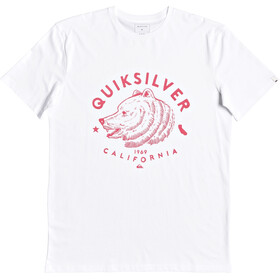 Quiksilver CA Brown Bear SS Tee Men white